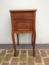beautiful antique wood side table from France in Ramstein, Germany