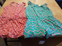Girls Two rompers size 14-16 in Naperville, Illinois