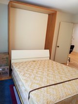 Pull-down Full size Murphy Bed in Naperville, Illinois