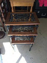 Three Nesting Tables in Fort Campbell, Kentucky
