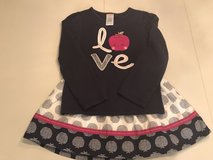 Gymboree Apple Outfit in Perry, Georgia