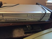Combo DVD and VCR player.     And DVD player in Naperville, Illinois