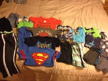 4t clothing  and pajama lot 21 pieces in Naperville, Illinois