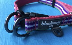 *NEW* Pretty Summer Dog Collar w/ Reflective Stripe  - Size M/L  RETAILS $17.99 in Fort Campbell, Kentucky