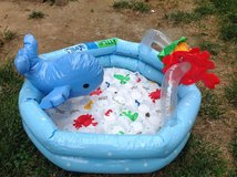 Baby pool in Camp Pendleton, California