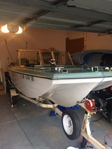 great boat, trailer, and 70 hp motor in Naperville, Illinois
