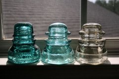 Glass insulators in Valdosta, Georgia