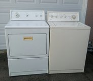 KENMORE WASHER AND GAS DRYER SET in Vista, California