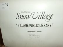 DEPT. 56 - Village Public Library in Westmont, Illinois