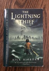 Percy Jackson & the Olympians: The Lightning Thief Bk. 1 by Rick Riordan (2006, in Lockport, Illinois