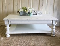 Shabby White Coffee Table in Kingwood, Texas
