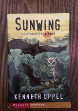 Sunwing by Kenneth Oppel Owls & Bats Suspense Sequel to Silverwing in Lockport, Illinois