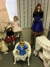 Doll collection large in Warner Robins, Georgia
