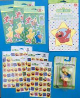 Sesame Street STICKERS & Big Bird Collectable figurine or Toy + more  $5 for EVERYTHING! in Fort Campbell, Kentucky