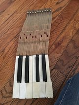 Whole set of piano keys for art - crafts in Glendale Heights, Illinois