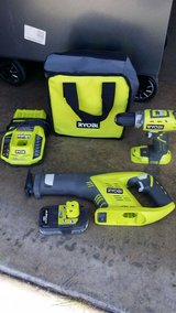 Ryobi 18-Volt Compact Drill/Driver and Cordless Reciprocating Saw in Vista, California