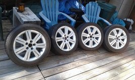 Audi - VW Tires & Rims 5x112 - $450 obo (Ruidoso) in Ruidoso, New Mexico