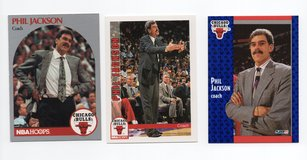 CHICAGO BULLS COACHING LEGEND PHIL JACKSON LOT in Oswego, Illinois