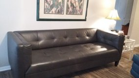 genuine leather modern sofa in Jacksonville, Florida