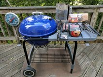 weber charcoal grill in Charlottesville, Virginia