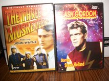 The Three Musketeers Starring a young John Wayne and Flash Gordon starring Steve Holland in Joliet, Illinois