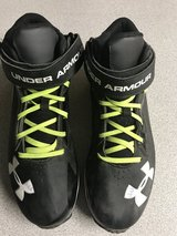 Under Armour  Cleats Size 9 in Leesville, Louisiana