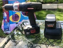 Craftsman Drill With Battery Charger in Montgomery, Alabama
