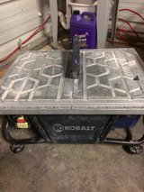 Kobalt wet saw in Goldsboro, North Carolina