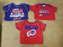3 buffalo bills 18 month onesies in Fort Drum, New York
