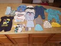 0-3 month boy clothing lot in Fort Drum, New York
