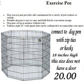 Wire X-Pen for small puppies in Columbus, Georgia