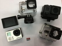 Gopro Hero 3 Silver with extras in Camp Lejeune, North Carolina