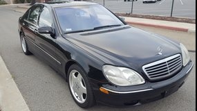 2001 Mercedes S55 AMG in Camp Pendleton, California