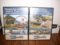 Two Model Railroader How to DVDs-Mastering Scenery Basics in Chicago, Illinois