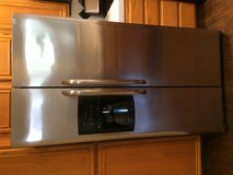 Stainless steel refrigerator in Lake Elsinore, California