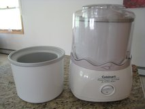 Cuisinart Electric Ice Cream Maker w/2 Freezer Bowls! in Naperville, Illinois