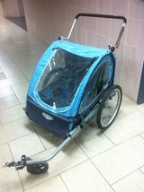 Instep bicycle trailer in Vicenza, Italy