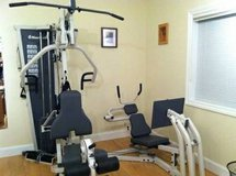 Nautilus NS 600 & NS 75 Multi-Station Home Gym and Weights in DeKalb, Illinois