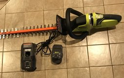 NEW Ryobi 22 in. 18-Volt Lithium-Ion Cordless Hedge Trimmer in Alamogordo, New Mexico
