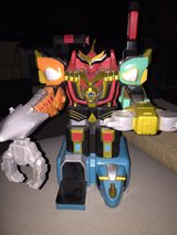 2002 Bandai Power Rangers Wild Force Megazord Used Missing Parts in Glendale Heights, Illinois