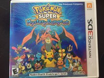 Pokémon super mystery dungeon, 3DS game in Baytown, Texas