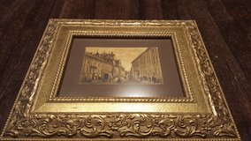"""Gold framed picture 13""""x 11"""" in Bolingbrook, Illinois"""