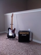 Fender Telecaster and Marshall Amplifier in Fort Carson, Colorado