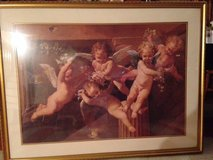 Large Framed Print of Five Angels in New Lenox, Illinois