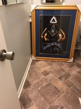 Framed Masonic artwork in Camp Lejeune, North Carolina