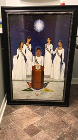 Framed OES Sisters of The Light in Camp Lejeune, North Carolina