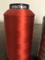 A LOT of Spectrum polyester Embroidery thread in Spring, Texas
