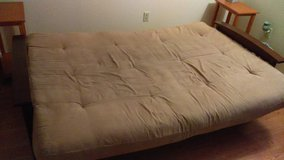 futon with extra thick mattress in 29 Palms, California