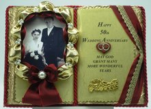 50. Wedding Anniversary - Handmade books for any event Nr. 00002 in Grafenwoehr, GE