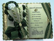40th  Wedding Anniversary - Handmade books for any event Nr. 00008 in Grafenwoehr, GE